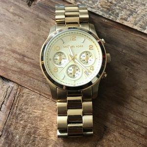 Michael Kors Gold Watch (MK5055)